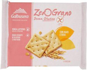 CRACKER GALBUSERA ZEROGRANO SENZA GLUTINE MAIS E RISO CRACKERS SNACK VEGAN 320 g