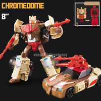 "Kids Toy Deformable Robot Enlarge The Headmasters Chromedome 8"" Action Figure"