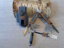 Gerber Bear Grylls multi herramienta survival Packet ge31-001047 mini lámpara fuego Starter