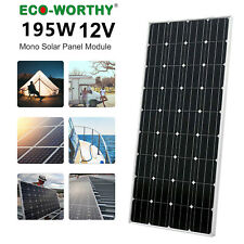200W 18V Mono Solar Panel battery charge for Home RV Caravan Battery Charge