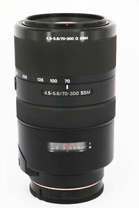 SONY 70-300mm f/4.5-5.6G SSM   A-mount   Professionally tested