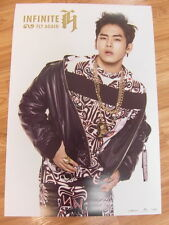 INFINITE H [HOYA] - FLY AGAIN [ORIGINAL POSTER] *NEW* K-POP