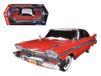 Auto World 1:18 CHRISTINE 1958 Plymouth Fury with Working Light Diecast AWSS102