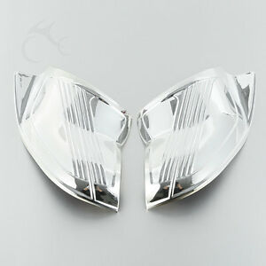 Chrome Batwing Inner Fairing Cover For Harley Touring Electra Street Glide 96-13