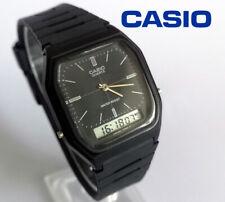 Vintage 1986 Casio AQ-8W men's quartz analogue digital watch cal. 308