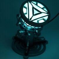 Iron Man Arc Reactor with LED Light Figure Legend 1:1 Scale Model Stark MK3 COS