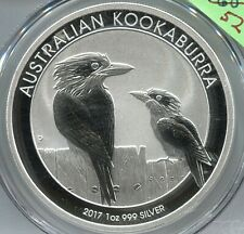 2017 P S$1 Australia Kookaburra - 1oz. - .999 Silver -  Lot #SB 183