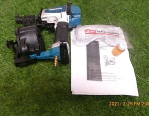 """Makita AN453 1-3/4"""" Roofing Coil Nailer (Factory Recondition)"""