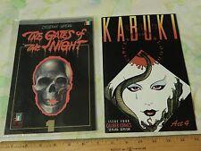 The Gates of the Night #1 + Kabuki Act 4 (LOT of 2) '90s Graphic Comic Books Ltd