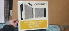 Rare Soundesign Vintage 8 Track Stereo Tape Player Model 4962 New In Box Nos