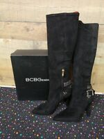 BCBG ENERATION BG-JONNIE BLACK Culata Women's Boots Shoes Size 9M New With Box