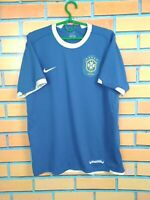 Brazil Brasil Jersey 2006 2008 Away M Shirt Mens Camiseta Football Soccer Nike