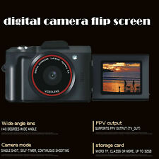 Digital SLR Camera TFT LCD Camcorder 16MP 1080P 16X Zoom Flip Screen Selfie US