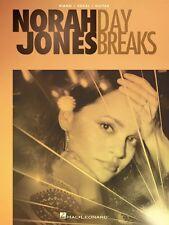 Norah Jones Day Breaks Sheet Music Piano Vocal Guitar SongBook NEW 000211287