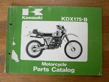 KAWASAKI KDX175-B MX CROSS 1980 PARTS CATALOG MOTORCYCLE MOTORRAD