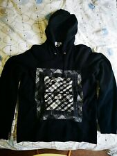 GANRYU Comme des Garcons Sweater Hoodie USED Size M (fit small) Black Wool 2