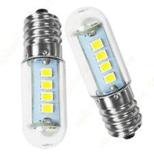 2pcs E14 3W Pure White LED Corn Light 220-240V Mini Bulb Lamp Bed Refrigerator