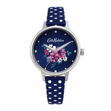 Cath Kidston Donna'S Watch Quadrante Blu Cinturino a pois blu CKL070U