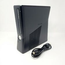 Microsoft Xbox 360 S Slim Model 1439 Console Cleaned, tested and working Genuine
