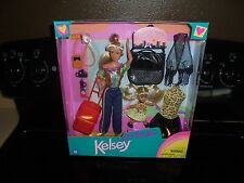 KELSEY ON THE GO DOLL SET~~ BY KID KORE~~ ASSORT. NO. 1237 NEW IN BOX!!!
