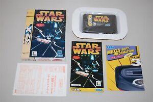 Star Wars arcade japan Sega 32X Mega Drive Game