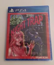 Night Trap PS4 Neuf Sous Blister Rare Limited Run