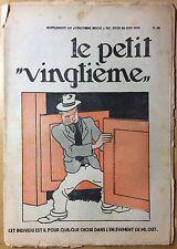 TINTIN THE Petit Vingtième n°26 du 30 june 1932 Condition medium