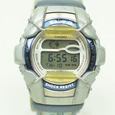 Vintage Casio Baby-G Watch World Time Alarm Digital Running BG-1100 26.1/D319