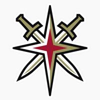 Vegas Golden Knights Alternate Logo NHL DieCut Vinyl Decal Buy 1 Get 2 FREE