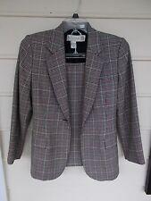 Glen Plaid Suit by Casual Corner - Size 6/6P