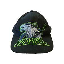Vintage 90s Godzilla Movie Promo Hat King Of Monsters Rare Japan