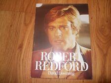 ROBERT REDFORD by David Downing - 1982   SC