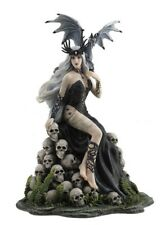 "10"" Mad Queen by Nene Thomas Skulls Fantasy Gothic Home Decor Dragon"