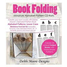 Debbi Moore Pattern Book CD Rom Minature Alphabet Lower Case Font Set 4A 324712