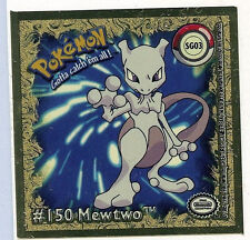 Mewtwo Gold Sticker Sg04 #07 ArtBox Pokemon Action Flipz Premier Foil 1999 Z3