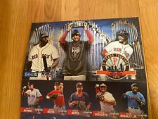 Pawtucket Red Sox Promotional Uncut Card Sheet Betts, Price, Devers, Bogaerts