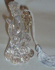 Lenox Angelic Gems Glass Angel Ornament w/Box