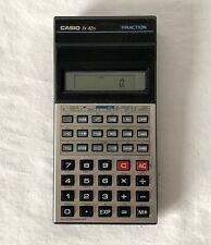 CASIO fx-82 Super Fraction Scientific Calculator