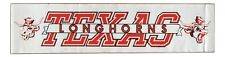 "1970's Texas Longhorns Bumper Sticker 15"" X 3 11/16"""