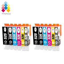 12 Ink Cartridges For Canon Pixma MG6220 MG8220 MG6150 MG6250 with Grey