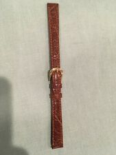 Leather watchband  size 12--never used