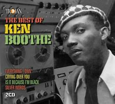 KEN BOOTHE - THE BEST OF  2 CD NEW
