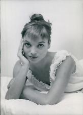 Actrice Elsa Martinelli, 1958, vintage silver print vintage silver printElsa