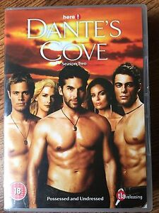 Dante's Cove Season 2 DVD Box Set Gay Interest TV Series w/ William Gregory Lee