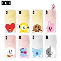 BTS BT21 Official Authentic Goods Mirror Case for iPhone / Galaxy 8Characters