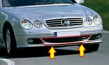 NEW GENUINE MERCEDES BENZ MB CL CLASS W215 FRONT BUMPER LOWER GRILL CENTER