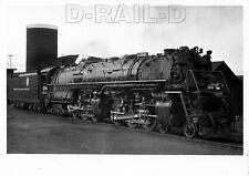 8EE723 RP 1938 DENVER RIO GRANDE RAILROAD 4-6-6-4  LOCO #3709 DENVER CO