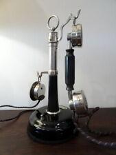 ANCIEN TELEPHONE ANTIQUE VINTAGE OLD PHONE DECO ALTE TELEFON DUNYACH et LECLERT