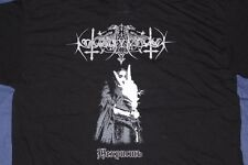 NOKTURNAL MORTUM Nechrist T-shirt Size XL Official OOP Graveland Dub Buk