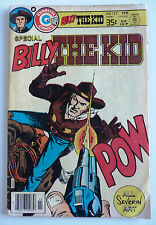 special billy the kid   1979 charlton comics john severin art